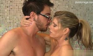 Hot dirty slut wife home sex
