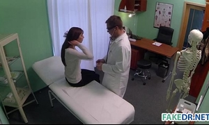 Fake doctor cures headache with his weenie