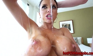 Pov meat gobbling bitch in act