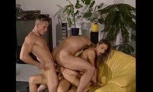 Triple penetration fuckfest