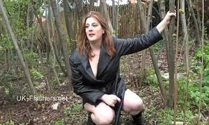 Amateur sweetheart jannas public masturbation and outdoor sextoy toying