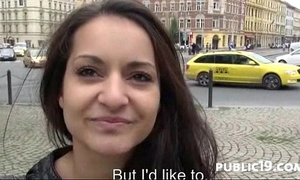 Amazing dilettante public sex footage