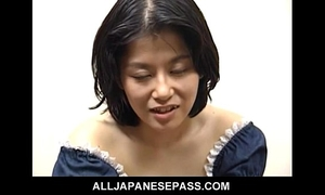 Miku is a sexually excited older japanese honey