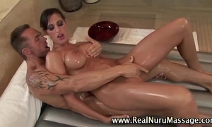 Masseuse playgirl fucking client