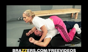 Dominant blond coach julia ann acquires a fine unfathomable fucking