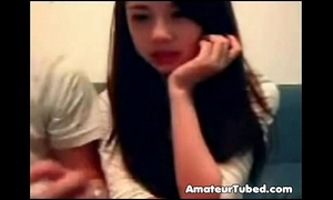 Couple playing livecam