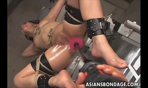 Japanese slavery fucking machine