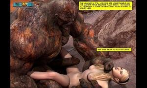3d comic: blade maidens. movie 6