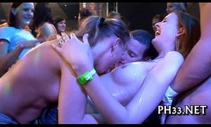 Wild fuck allover the night club