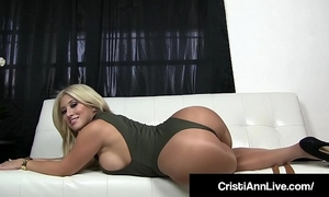 Boss cristi ann confronts employee who stole her indecent pantyhose!