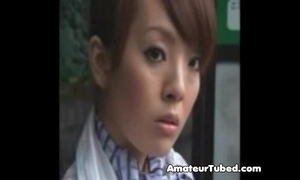 Japanies air hostress hotwife fuck by strangers from sanjh
