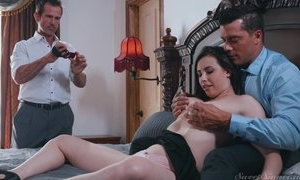 Cuckold dude takes pictures of his wife fucking other man