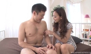 Sexy Asian girl gets sensually fucked and creampied