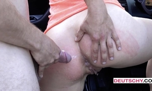 Beautiful Czech girl gets assfucked and pissed on