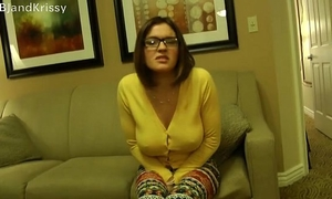 Krissy craves a baby making creampie