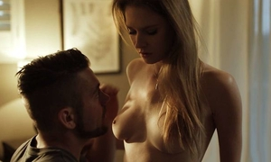 Gorgeous blonde babe with perky tits secretly fucked her stepbrother