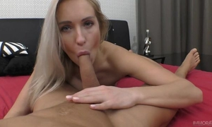 Passionate European babe with natural breasts gets nicely fucked