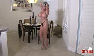 Boyfriends fetish smokin' stripper older sally d'angelo