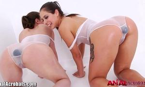 Analacrobats casey calvert takes a giant fake penis
