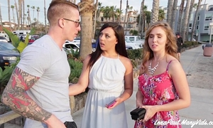 Lena paul and whitney wright share boyfriend nathan red's dong