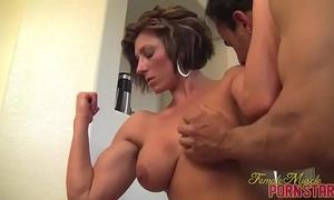 Female bodybuilder mastix amazon receive worshiped
