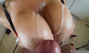 Big zeppelins overspread in semen!! hall of fame milf vicky vette!