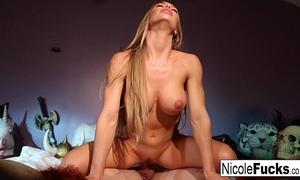 Nicole aniston milks a chap