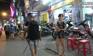 North korean defector picking up thai beauties! [hidden camera]
