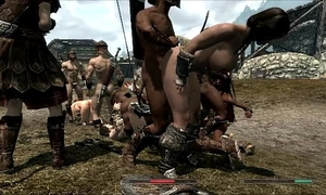 Skyrim gals in trouble