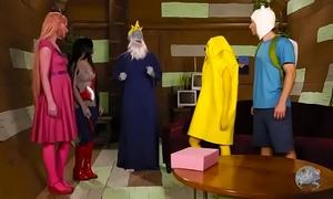 Adventure time parody