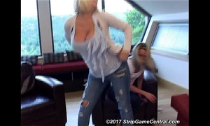 Demi & emma play undress tickle