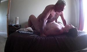 Fucking my girl on vacation -hidden webcam