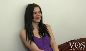 Cute vosamour slutty wife roxanna tells us what is in her fridge! behind the scenes