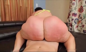 Bbw booty marvelous captivating white