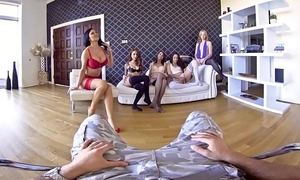 Vrbangers.com five hawt gals warship your 10-Pounder